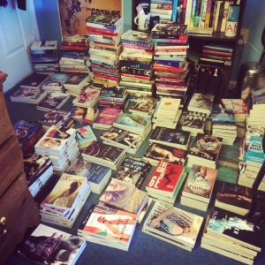 "What happened when I tried to ""organize"" my books."