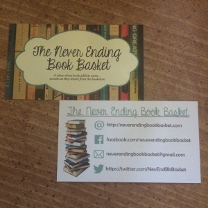 I finally have business cards...and I LOVE them!!