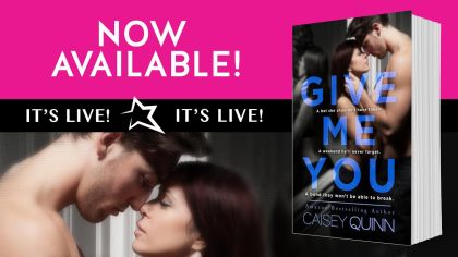 give me you now available