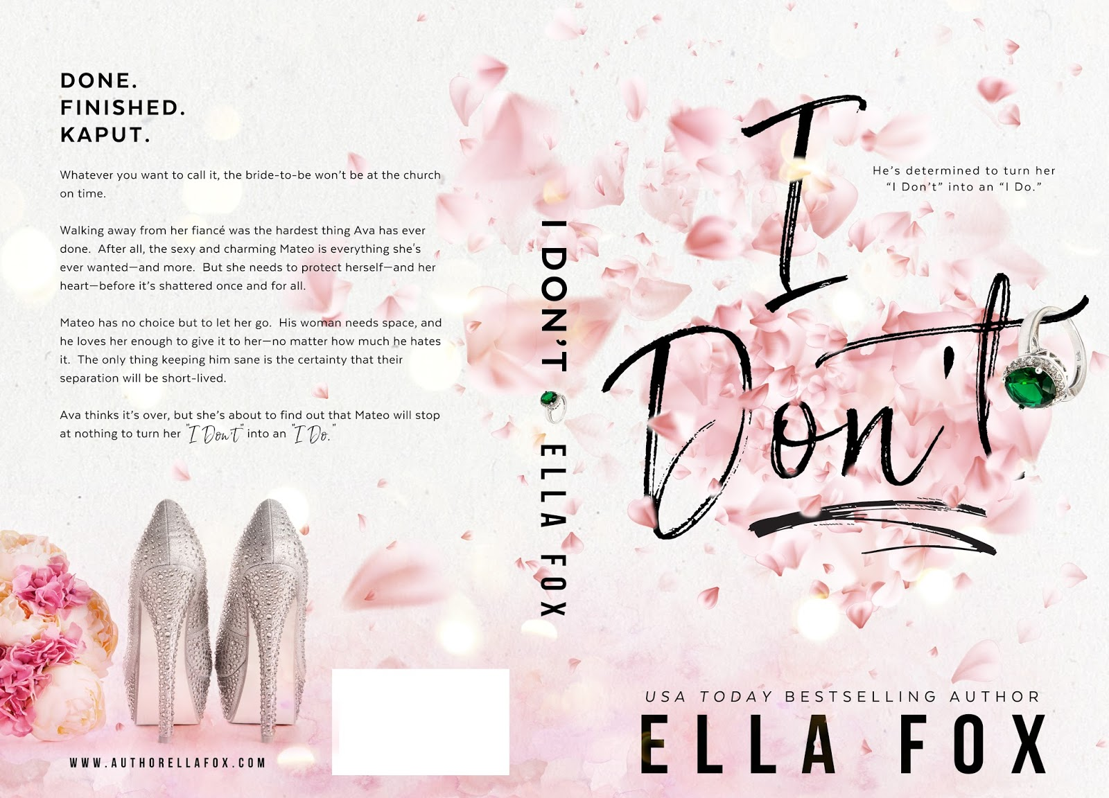 It's a Cover Reveal: I Don't by Ella Fox | The Never Ending